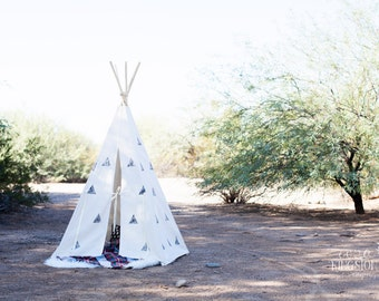 Children's Play Teepee WITH poles
