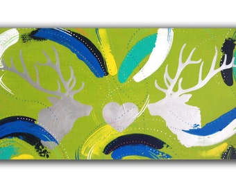 Abstract 7 - Deer of Love