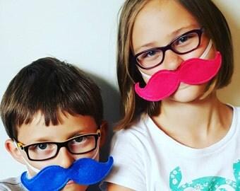 Felt Mustache Party Favor