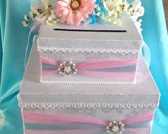 Wedding card box, baptism card box