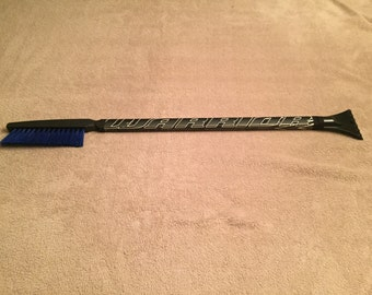Limited Edition Warrior Hockey Stick Snow Brush