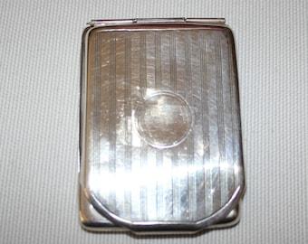 1924 Sterling Silver Stamp Case