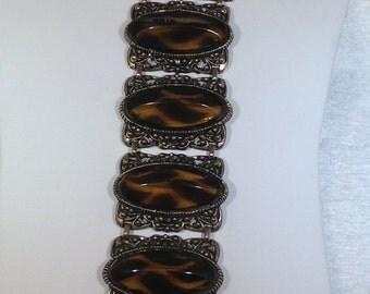 Large Vintage Chunky Bracelet