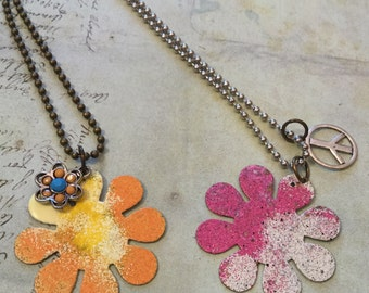 Flower Power Necklaces II