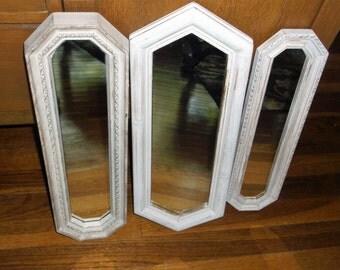 Vintage Mirror Grouping Three Vintage Mirrors
