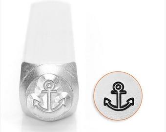 Anchor Metal Stamp, 6mm SC1519-I-6mm