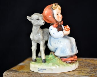 Good Friends Hummel Figurine, 160.00 on bottom, bought in GermanyHummel Factory, Dated and signed on the bottom, Great Gift Idea, #775