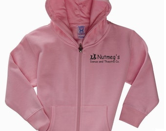 Nutmeg's Toddler Full Zip Hoodie