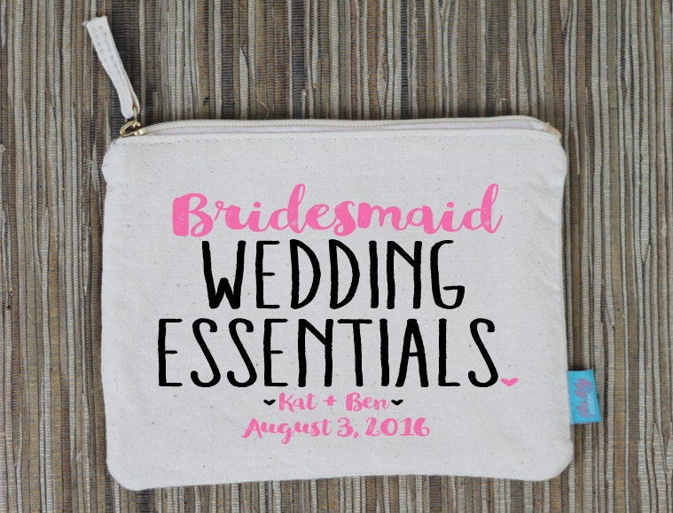 Wedding Day Makeup Essentials : Essentials Bridesmaid Makeup Bag Wedding Day Makeup Bag
