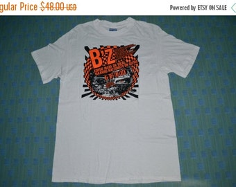 ON SALE 20% Vintage 80s B'Z Japanese Hard Rock Tour Concert Promo album rare 90s T-shirt t shirt