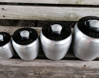 Aluminum Kitchen Canisters
