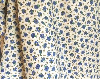 60s vintage mod retro fabric. Scandinavian design. Made in Sweden. Unused condition.