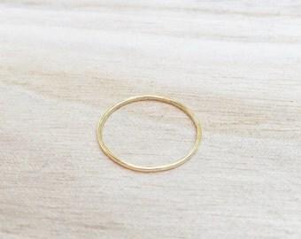 Gold whisper ring, gold stacker, skinny gold ring, thin gold stacking ring, gold ring, skinny stacker, stacking rings, dainty gold ring
