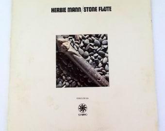 1970 Herbie Mann Stone Flute Vinyl LP Record Embryo SD 520