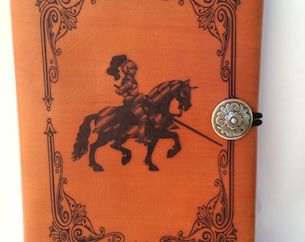 Knight Leather Journal Cover