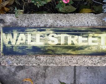 Wall Street - 4x15 in.