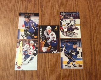 25 Vintage Washington Capitals Cards