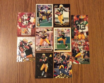 50 Green Bay Packers Football Cards