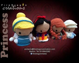 Princess Amigurumi Dolls