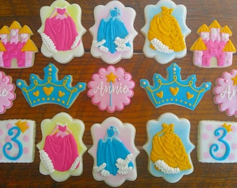 Princess Sugar Cookies