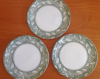 Ornate Appetizer Plates - Set of 3