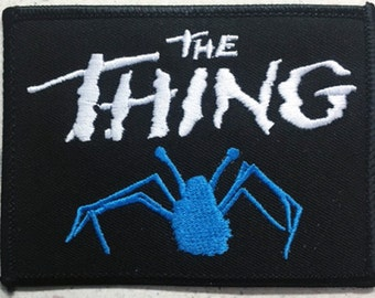 """The Thing """"spider"""" patch John Carpenter 80's sci-fi horror"""