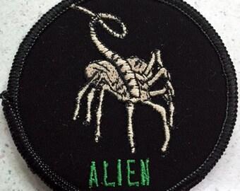 """Alien """"Hugger"""" patch sci-fi horror"""