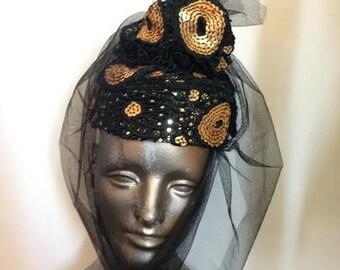 Handmade Vintage Style Avant Garde Hat