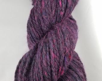 Mixed wool handspun yarn