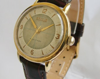 A gents 1950s Majola wrist watch