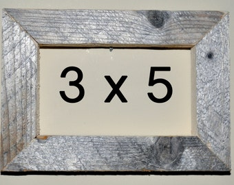 3 x 5 Driftwood Picture Frame (303)