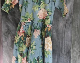 Floral Oversize Dress