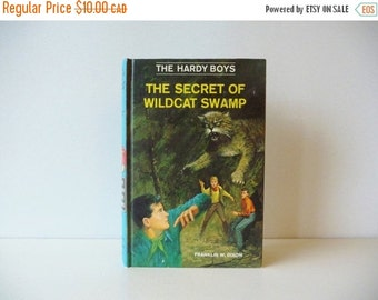 Vintage Hardy Boys # 31 - Mystery Stories - The Secret of Wildcat Swamp by Franklin W. Dixon -Grosset & Dunlap Inc 1969 -Free Gift Wrapping