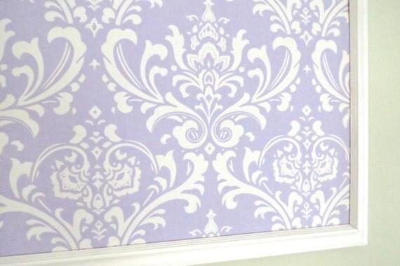 Lavender or Pink Damask Jewelry Board Pin Board