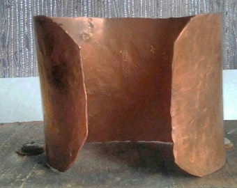 Hammered Copper Cufff