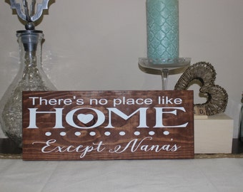 There's No Place Like Home... Except Nana's