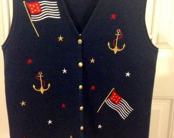 Nautical Vest_M