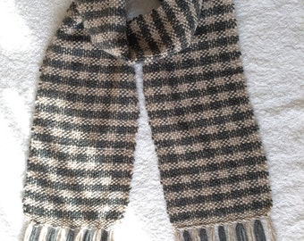Very Soft Hand Woven Scarf
