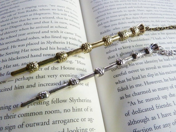 Elder wand necklace dumbledore 39 s wand deathly by justinepaige for Elder wand spells