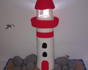 "PDF crochet pattern - pattern ""Lighthouse"""