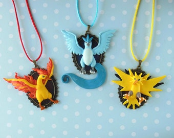 Pokemon Legendarys - Necklace Collection Gen 1