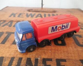 Vintage Mobil Impy Foden Tilt Cab Fuel Tanker Truck Advertising