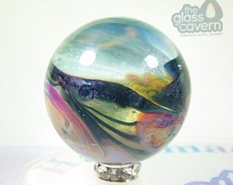 Handmade Borosilicate Lampwork Chaos Marble