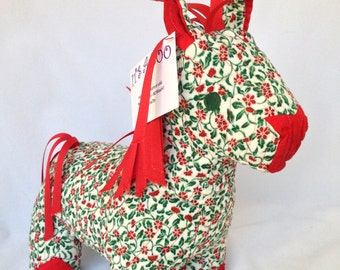 Horse, Quilted Stuffed Animal, Merribelle