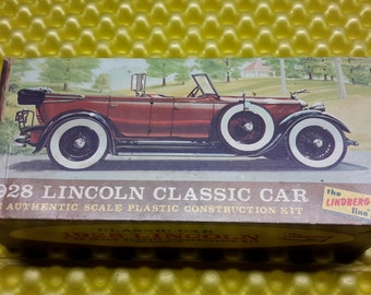 The Lindberg Line 1928 Lincoln Model Car
