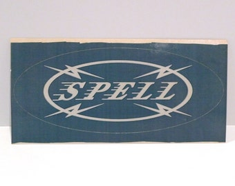 Spell Sticker Vintage 90's Band Rose McDowall Boyd Rice Mute Record Label Ad Mailed Mohawk Music Record Store Psychic TV Nurse With Wound