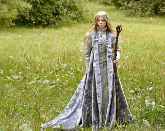 Thranduil cosplay costume. Pre order! The Hobbit: An Unexpected Journey. bjd dress, doll clothes, bjd doll clothing.