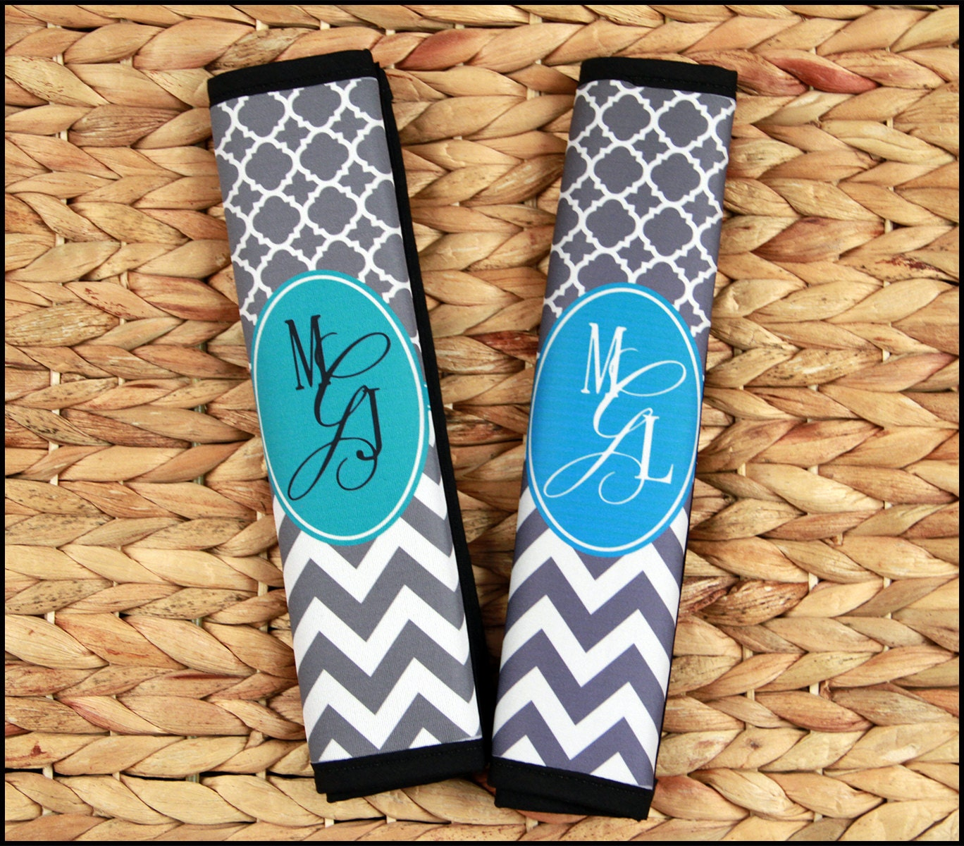 Gift Ideas For Her Monogrammed Seat Belt Cover