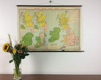 Geppert social sience map (pull down school map).