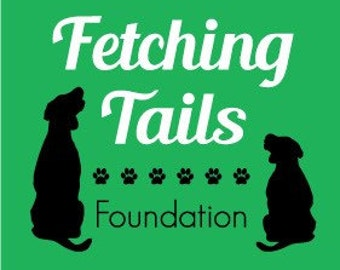 Donate a custom collar to Fetching Tails Foundation